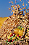 Shavuot holiday, a basket of fruit