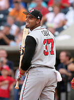 Nashville Sounds Nelson Cruz #37 during the home run derby before the Triple-A All-Star Game at Fifth Third Field on July 10, 2006 in Toledo, Ohio.  (Mike Janes/Four Seam Images)