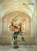Interlitho, Erica, COMMUNION, photos, church, roses(KL15594,#U#) Kommunion, comunión