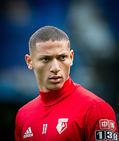 Richarlison of Watford ahead of the Premier League match between Chelsea and Watford at Stamford Bridge, London, England on 21 October 2017. Photo by Andy Rowland.