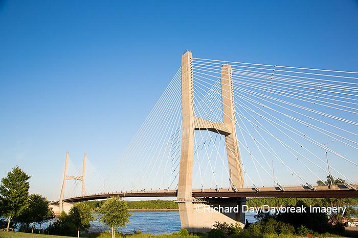 65095-02320 Bill Emerson Memorial Bridge over Mississippi River Cape Girardeau, MO