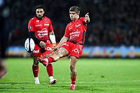 Louis Carbonel of Toulon during the French Top 14 match between Agen and Toulon at Stade Armandie on November 4, 2017 in Agen, France. (Photo by Manuel Blondeau/Icon Sport)