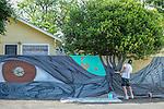 2Q - mural artist - Erik Burke
