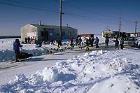 K.Anderson Arrives at Shaktoolik on Norton Sound Bering Sea