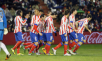 Real Valladolid V Atletico de Madrid match of La Liga 2012/13. 17/02/2012. Victor Blanco/Alterphotos /NortePhoto