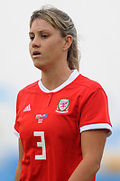 Gemma Evans of Wales Women's' in action during the Women's International Friendly match between Wales and New Zealand at the Cardiff International Sports Stadium in Cardiff, Wales, UK. Tuesday 04 June, 2019