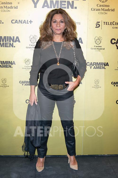 "Spanish singer Lolita attend the Premiere of the movie ""Carmina y Amen"" at the Callao Cinema in Madrid, Spain. April 28, 2014. (ALTERPHOTOS/Carlos Dafonte)"