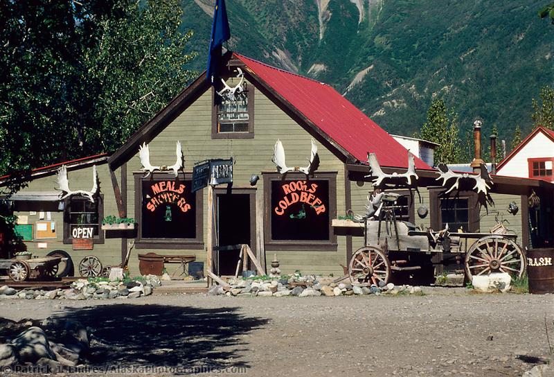 Mccarthy lodge, mccarthy, Wrangell St. Elias National Park, Alaska