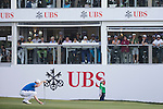 Andrew Dodt of Australia putts on the green of the 18th hole during the 58th UBS Hong Kong Golf Open as part of the European Tour on 11 December 2016, at the Hong Kong Golf Club, Fanling, Hong Kong, China. Photo by Vivek Prakash / Power Sport Images