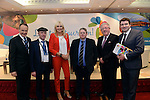 Howard Hastings, Hastings Hotels, Northern Ireland, Deputy Michael Healy-rae, TD, Miriam O'Callaghan, Conference Chairman, Prof Brian Lucey, TCD, Joe Dolan, President, IHF and Deputy Brendan Griffin, TD pictured at the National Tourism Forum in The Muckross Park Hotel, Killarney at the weekend. <br /> Over 200 delegates from all over Ireland attend the inaugural event which was addressed by national and international speakers.<br /> Photo: Don MacMonagle<br /> <br /> Repro free photo