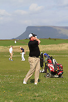 Michael Buggy (Castlecomer) on the 14th during round 2 of The West of Ireland Amateur Open in Co. Sligo Golf Club on Saturday 19th April 2014.<br /> Picture:  Thos Caffrey / www.golffile.ie