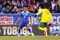 St. Louis, Mo. - Friday, November 13, 2015: The USMNT defeat St. Vincent and the Grenadines 6-1 in their 2018 FIFA World Cup Qualifying match at Busch Stadium.