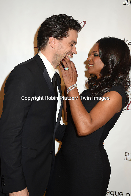 Audra McDonald and husband Will Swenson attend the 29th Annual Drama League Gala Musical Celebration of Broadway honoring Audra McDonald on February 11, 2013 at the Pierre Hotel in New York City.