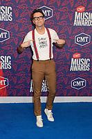 05 June 2019 - Nashville, Tennessee - Bobby Bones. 2019 CMT Music Awards held at Bridgestone Arena. <br /> CAP/ADM/DMF<br /> ©DMF/ADM/Capital Pictures