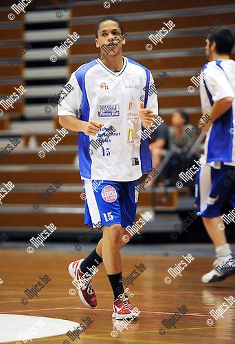 2011-08-13 / Basketbal / seizoen 2011-2012 / Kangoeroes Boom - Kabo / Lecomte Emmanuel..Foto: Mpics