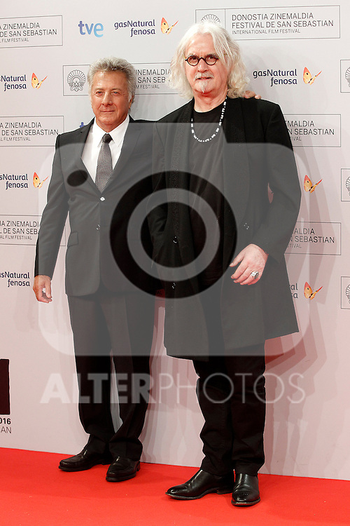 Dustin Hoffman (l) and Billy Connolly attend the photocall before Special 60th Donisti Award gala during the 60th San Sebastian Donostia International Film Festival - Zinemaldia.September 29,2012.(ALTERPHOTOS/ALFAQUI/Acero)