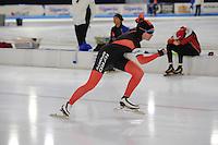 SCHAATSEN: HEERENVEEN: 03-02-2017, KPN NK Junioren, Junioren C Dames 500m, Annebet Dekker, ©foto Martin de Jong
