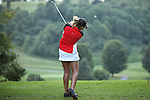 Sara Brown tees off on the 16th tee at Alliance Bank Classic Golf in Syracuse, NY