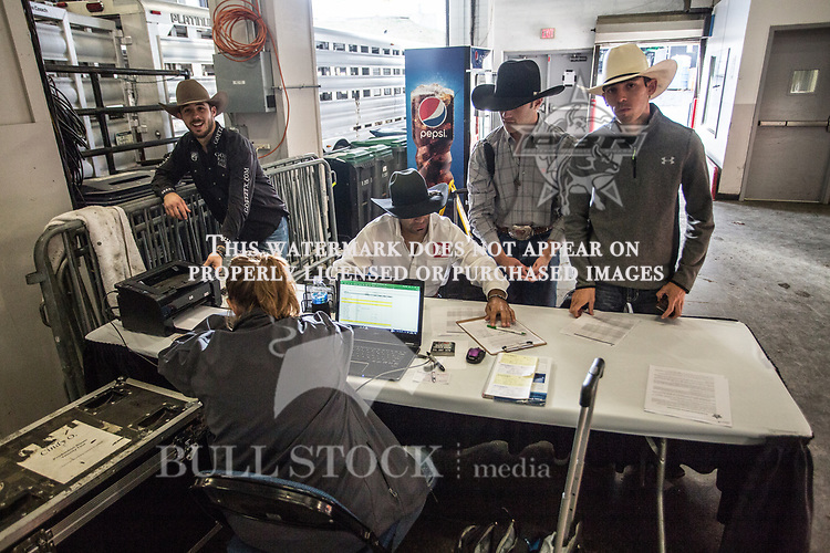 Cindy O'Neall with the athletes of PBR Real Time Pain Relief Velocity Tour event in Albany, NY -  Photo by Andre Silva