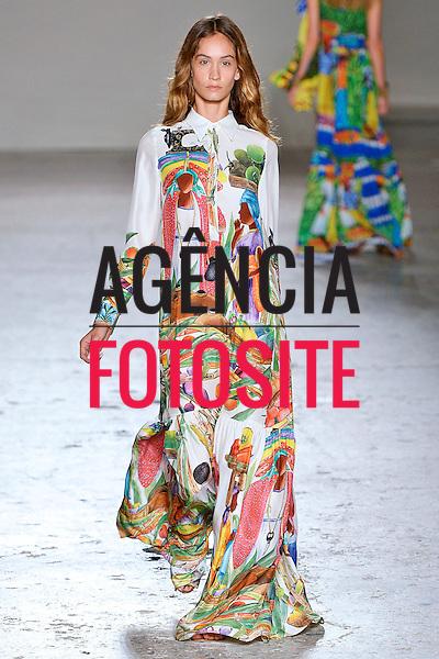 Milao, It&aacute;lia &sbquo;09/2014 - Desfile de Stella Jean durante a Semana de moda de Nova Milao  -  Verao 2015. <br /> <br /> Foto: FOTOSITE