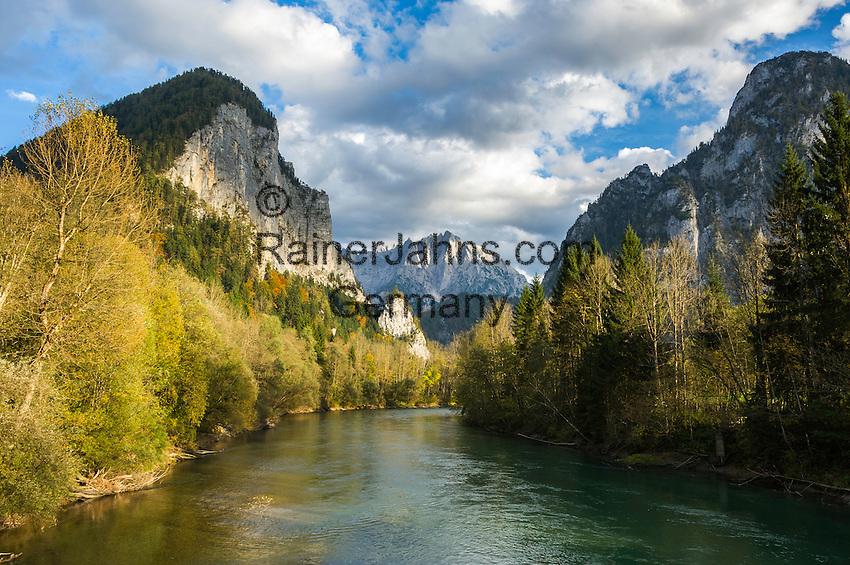 Austria, Styria, river Enns at Gesaeuse National Park   Oesterreich, Steiermark, die Enns beim Gesaeuse-Eingang