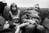 WARSAW, POLAND, SEPTEMBER 18,1991: Polish Prime Minister Tadeusz Mazowiecki with his granddaughters at his home in Warsaw.<br /> (Photo by Piotr Malecki / Napo Images)<br /> <br /> WARSZAWA, 18.09.1991:<br /> Premier Tadeusz Mazowiecki z wnuczkami w swoim domu w Warszawie.<br /> Fot: Piotr Malecki / Napo Images