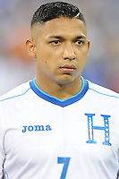 Washington, D.C.- May 29, 2014. Honduras defender Emilio Izaguirre.  Turkey defeated Honduras 2-0 during an international friendly game at RFK Stadium.