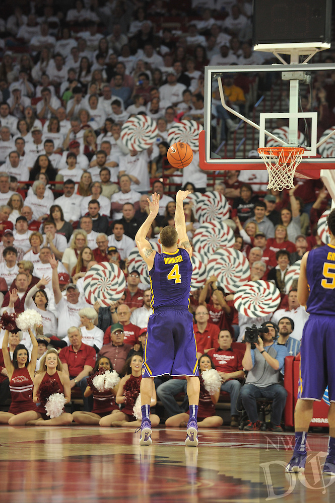 NWA Democrat-Gazette/Michael Woods --03/07/2015--w@NWAMICHAELW... University of Arkansas Razorbacks vs the LSU Tigers during Saturday afternoons game against LSU at Bud Walton Arena in Fayetteville.