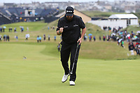 Shane Lowry (IRL) gets his Final Round going at the 148th Open Championship, Royal Portrush Golf Club, Portrush, Antrim, Northern Ireland. 21/07/2019. Picture David Lloyd / Golffile.ie<br /> <br /> All photo usage must carry mandatory copyright credit (© Golffile | David Lloyd)