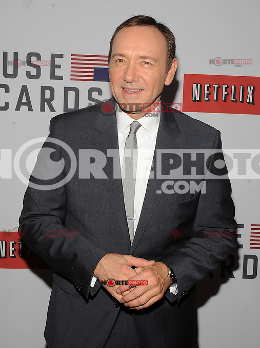 New York, NY- JANUARY 30: Netflix's 'House Of Cards' New York Premiere at Alice Tully Hall in New York City on January 30, 2013 RTNSteven/Mediapunchinc /NortePhoto