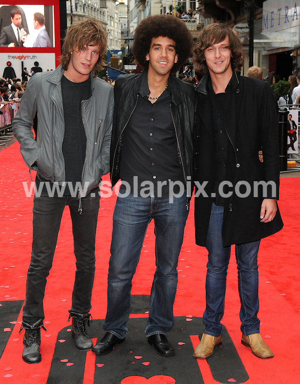 **ALL ROUND PICTURES FROM SOLARPIX.COM**.**WORLDWIDE SYNDICATION RIGHTS**.Premiere of The Ugly Truth at The Vue cinema, Leicester Square, London, UK. 4 August 2009 ..This pic: Vagabond..JOB REF: 9698 SSD     DATE: 04_08_2009.**MUST CREDIT SOLARPIX.COM OR DOUBLE FEE WILL BE CHARGED**.**MUST NOTIFY SOLARPIX OF ONLINE USAGE**.**CALL US ON: +34 952 811 768 or LOW RATE FROM UK 0844 617 7637**