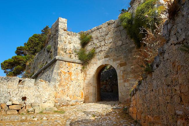 "The venetian castle ""St.George"" located south of Argostoli, Kefalonia, Ionian Islands, Greece."