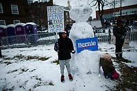 NEW YORK, NY - MARCH 02:  Bernie Sanders  supporters attend his first presidential campaign rally at Brooklyn College on March 02, 2019 in the Brooklyn, New York.  (Photo by Kena Betancur/VIEWpress)
