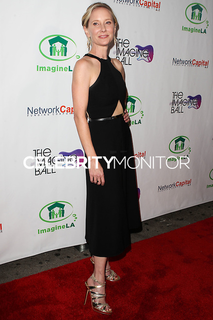 WEST HOLLYWOOD, CA, USA - AUGUST 06: Anne Heche at The Imagine Ball Presented By John Terzian & Randall Kaplan Benefiting Imagine LA held at the House of Blues Sunset Strip on August 6, 2014 in West Hollywood, California, United States. (Photo by Celebrity Monitor)