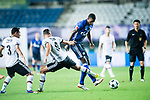 FC Schalke Forward Haji Wright (R) fights for the ball with Besiktas Istambul Defender Dusko Tosic (C) during the Friendly Football Matches Summer 2017 between FC Schalke 04 Vs Besiktas Istanbul at Zhuhai Sport Center Stadium on July 19, 2017 in Zhuhai, China. Photo by Marcio Rodrigo Machado / Power Sport Images