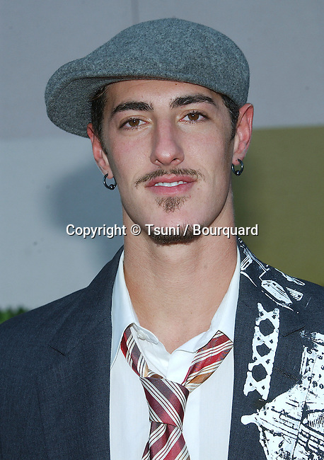 Eric Balfour (Hawaii) arriving at the NBC All-Star Party for the New Fall Season 2004 at the Universal Lot in Los Angeles. July 11, 2004.