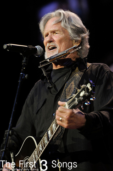 Kris Kristofferson performs at the Ryman Auditorium for Tootsie's Orchid Lounge 50th Anniversary Celebration in Nashville, Tennessee.