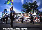 High School marching band, Hazelton, NE PA