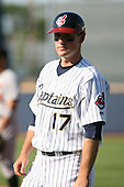 June 11th 2008:  Matt Willard of the Lake County Captains, Class-A affiliate of the Cleveland Indians, during a game at Classic Park in Eastlake,OH.  Photo by:  Mike Janes/Four Seam Images
