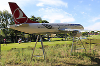 Turkish Airlines model during Wednesday's Pro-Am of the 2018 Turkish Airlines Open hosted by Regnum Carya Golf &amp; Spa Resort, Antalya, Turkey. 31st October 2018.<br /> Picture: Eoin Clarke | Golffile<br /> <br /> <br /> All photos usage must carry mandatory copyright credit (&copy; Golffile | Eoin Clarke)
