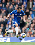 Chelsea's Pedro in action during the premier league match at Stamford Bridge Stadium, London. Picture date 17th September 2017. Picture credit should read: David Klein/Sportimage