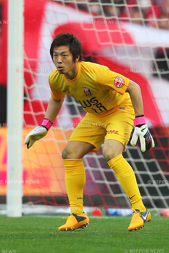 Nobuhiro Kato (Reds), .March 9, 2013 - Football / Soccer : .2013 J.LEAGUE Division 1, 2nd Sec .match between Urawa Reds 1-0 Nagoya Grampus .at Saitama Stadium 2002, Saitamai, Japan. .(Photo by Daiju Kitamura/AFLO SPORT) [1045]