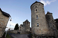 Lozere Village in France