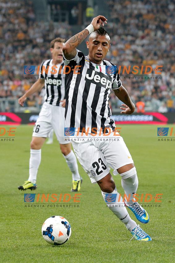 Arturo Vidal Juventus, <br /> Torino 31-08-2013<br /> Juventus Stadium <br /> Football Calcio 2013/2014 Serie A <br /> Juventus - Lazio <br /> Foto Marco Bertorello Insidefoto