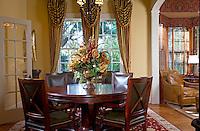 Gentlemen's Club inspired dining room