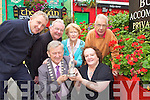 The hard workers who contributed to Killarney winning the Best Large Town in Ireland award celebrate in Killarney on Wednesday front row l-r:  Donal Grady Killarney Mayor, Yvonne Quill. Back row: Pat Lenihan, David Doyle, Kathleen Foley and Gerard O'Sullivan .