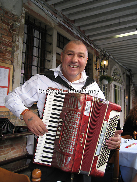 Accordian Player - Venice