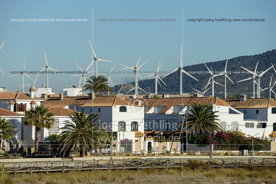 Spain, Andalusia, Cadiz, Zahara de los Atunes, wind farm, Enercon windturbines
