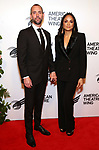 James Uphoff and Karen Olivo attends The American Theatre Wing's 2019 Gala at Cipriani 42nd Street on September 16, 2019 in New York City.