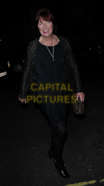 Janet Street Porter .The George Michael special concert, Royal Opera House, Covent Garden, London, England..November 6th, 2011.full length black  dress tights.CAP/CAN.©Can Nguyen/Capital Pictures.